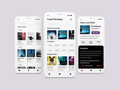 E-Book App Design ecommerce ebooks book application book app book ebook layout ebook cover ebook design ebook clean ui design application app android ui ux