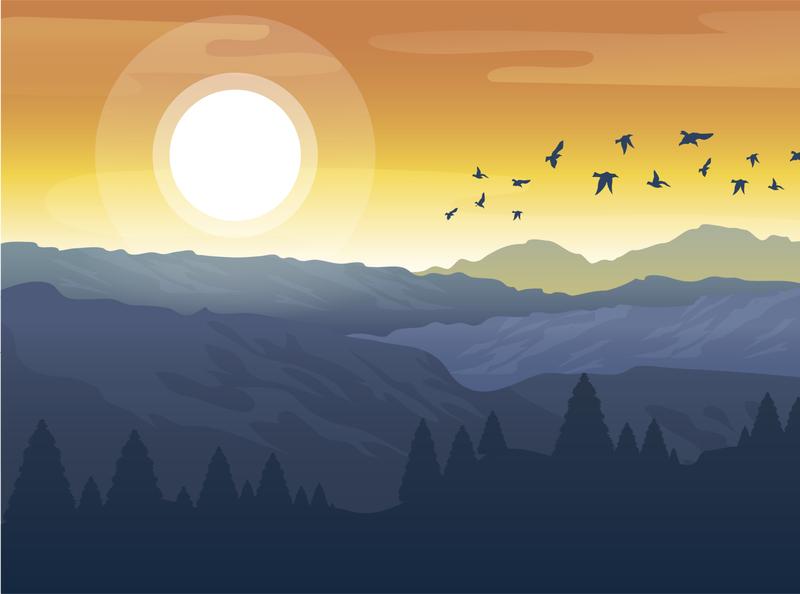 Jungle 2 design illustration