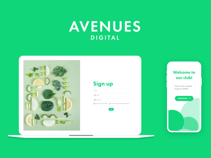 Designing a Sign-In Page | AVENUES Digital sign in sign up daily 100 challenge daily ui dailyui ui  ux icon minimal flat app web website design ux design ui design uidesign ux uiux ui web design
