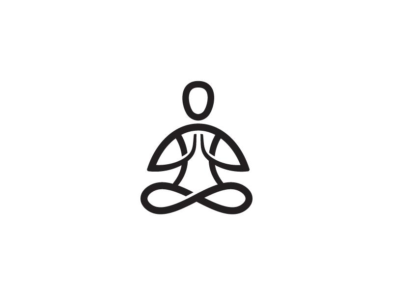 meditation logo mark by ivan nikolić dribbble