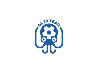 Octopus Soccer Logo