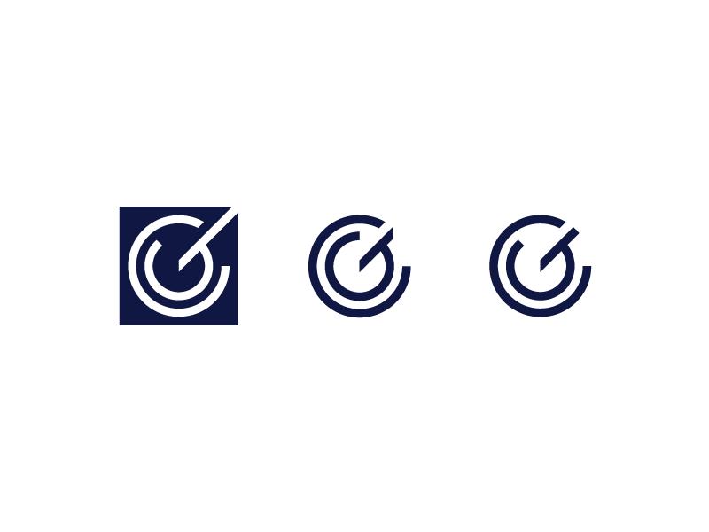 CG Monogram Exploration logo designer mark initials symbol monogram modern minimal logo letter icon branding brand