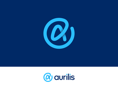 Management Software Logo monogram logo letter icon gradient data a blue modern app marketing management