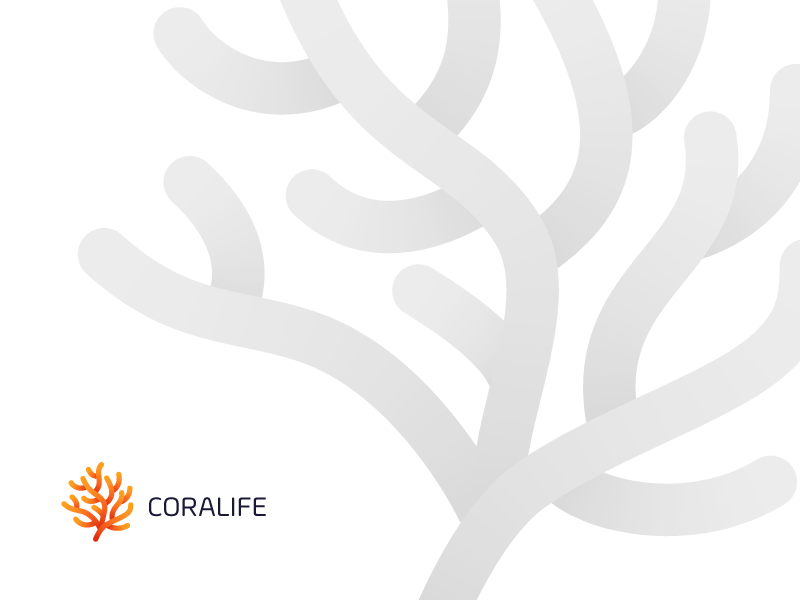 Coralife Logo nature logo biology marine ocean sea see laboratory lab research coral