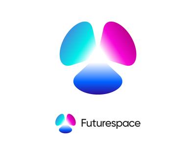 Logo proposal for VR AR crypto platform