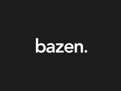 Bazen Logo Animation minimalistic minimal youtube tutorial channel outro intro after effects animation 2d animation youtube transition microanimation microinteraction animated gif animated aep motion graphic motion design logo animation