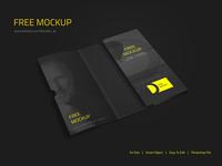 Corporate Folder Mockup Free