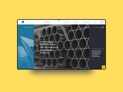 Group of Companies Website Design - 2019