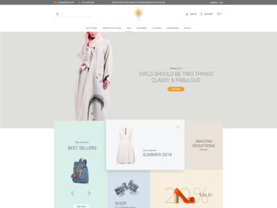 E Commerce Webdesign - 2018