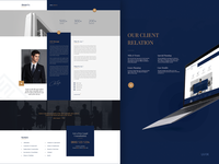 Law Firm - UI Design insidepage webdesign ui doha awwwards www freebie premium creative uiuxdesign website law qatar uidesign arabic
