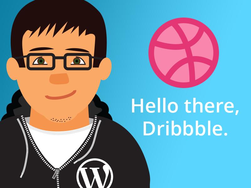 Hello Dribbble avatar dribbble hello