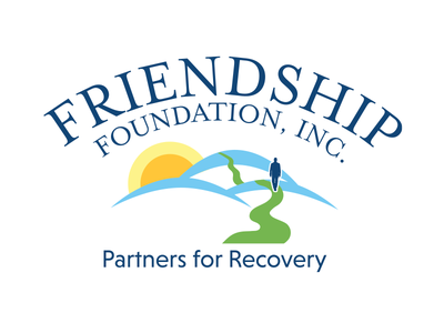 Friendship Foundation Logo recovery hills sun non profit foundation logo