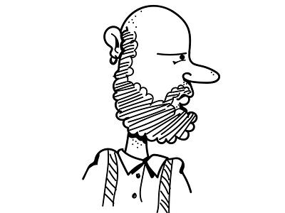 Character Illustration - Ron illustration character