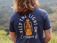 Keep the light on T-shirt.