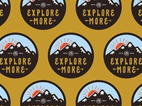 Explorer More - Sticker.