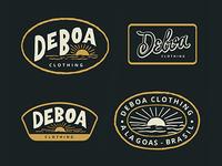 Deboa badges.