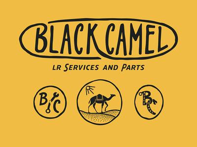 Black Camel - Logo.