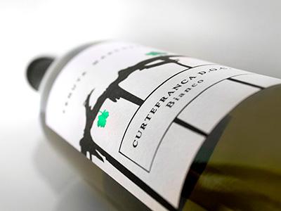 Curtefranca Bianco graphics label design etichetta graphicdesign labeldesign bevande food beverage vino sparkling wine