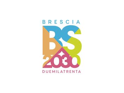 BS2030 2030 colors design graphicdesign branding comunedibrescia brescia logodesign logotype logo