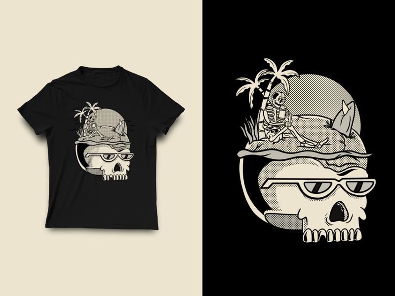Skull Illustration T-shirt skull illustration skull draw art design skulls tshirt skull art skull illustration art design