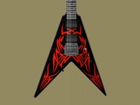BC Rich Kerry King V Tribe