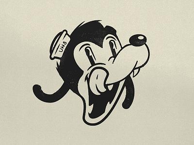 Upperhand signs fun illustration design icon logo cartoon disney sailor animal dog