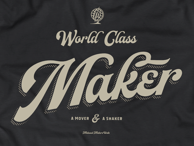 World class from the Midwest world class north dakota typography design midwest logo typography