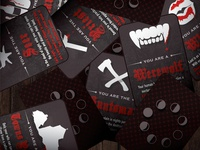 Werewolf Card Game Set