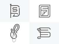 S + F Logotype / Mark