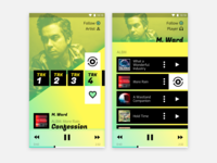 Albums and Player UI