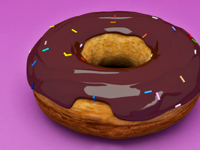 3d-render donut illustration design render c4d 3d