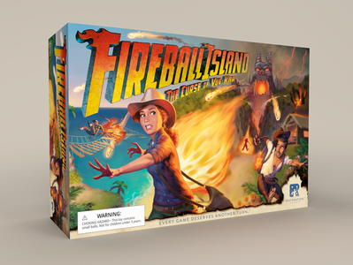 Fireball Island The Curse of Vul-Kar box