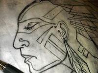 Penacook Face Pencil