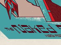 Naked Stills album release gigposter