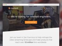 Crunchyroll Jobs Page