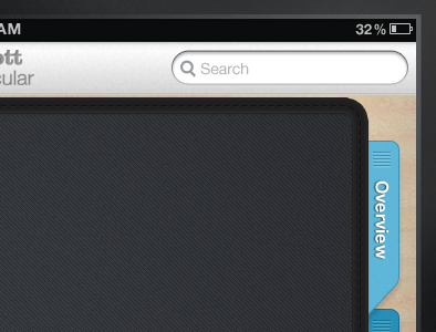 Smapplication Homepage  tabs folder search