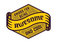 Award Sticker