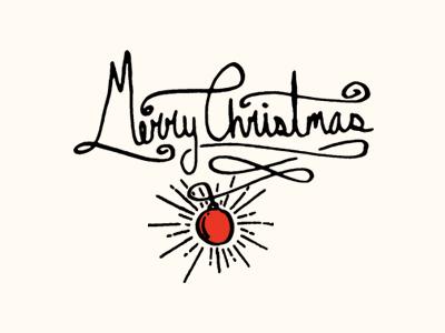Merrychristmasdribbble