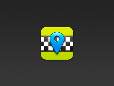 Taxi icon icon ios taxi location hail app