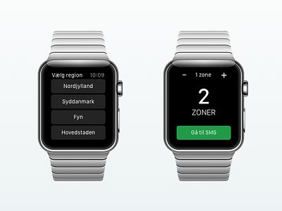 Billetter Watch concept billetter app apple watch watch ulrikstoch