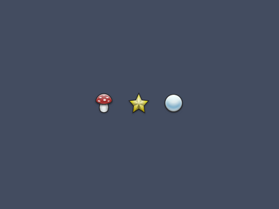 Icons – WIP fly amantia circle star 32 icons