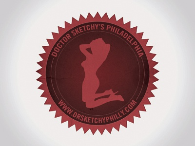 Possible Dr. Sketchy's Philly Sticker