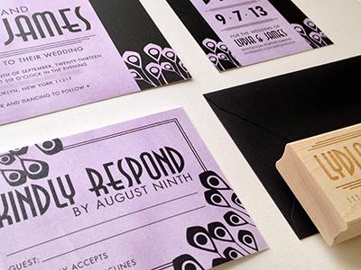 Lydia Wedding Stationery Suite