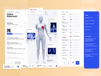 Medical Dashboard Design