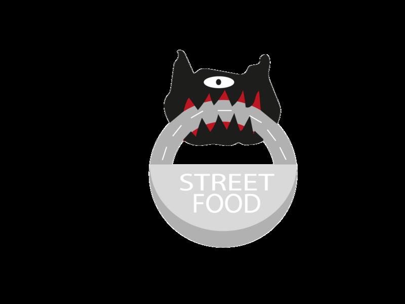 DOG STREET FOOD logo design logo vector design icon illustration flat