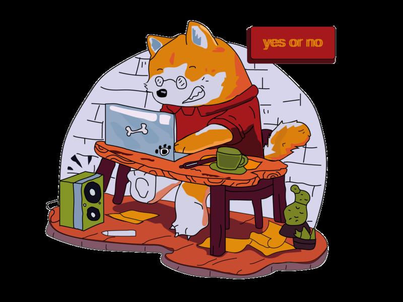 flat animal cat vector logo icon design illustration flat