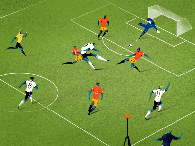 Reeplayer ball app illustration editorial illustration football drawing line fußball illustration
