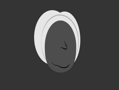 minimal Bach _ SEVEN ARTS project bach minimalistic art flat vector musician illustrator minimal illustration