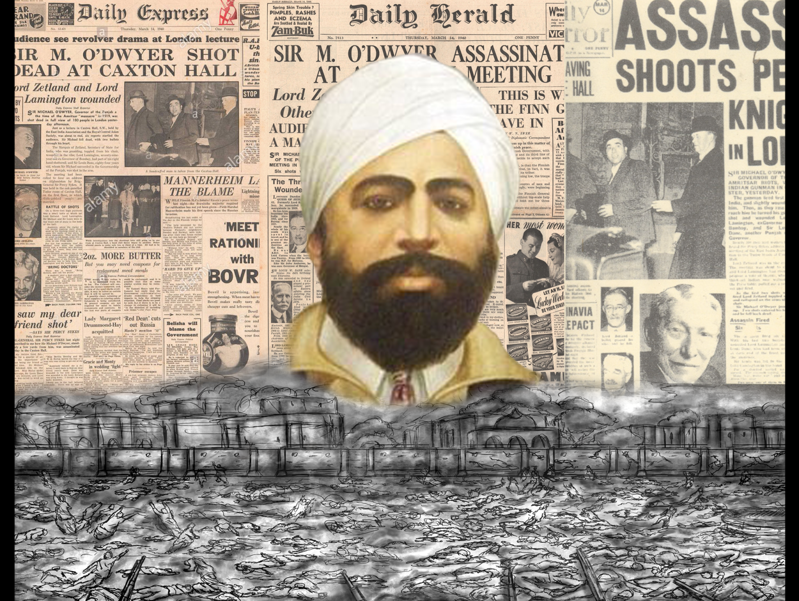 Shaheed Udham Singh by Girijanandan Kar on Dribbble