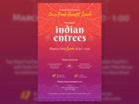 Benefit Lunch featuring Indian Food